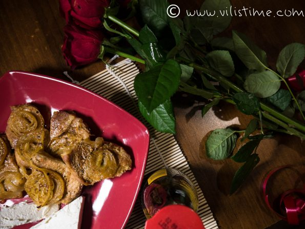 Свинско контрафиле с биричка и лук