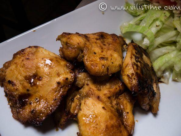 Пилешки филенца с горчица на фурна