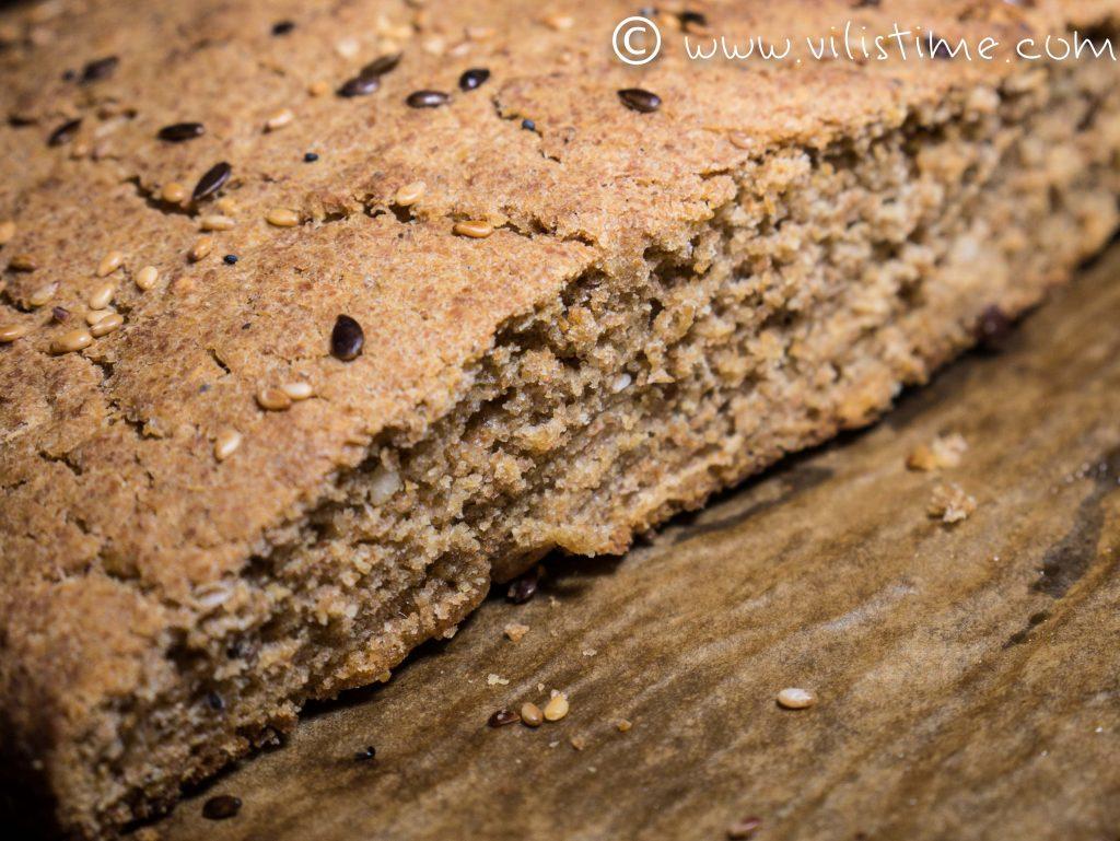 Постна содена питка за Коледа с брашно от лимец