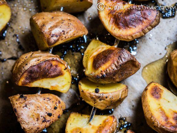 Вкусни картофени шишчета за всеки