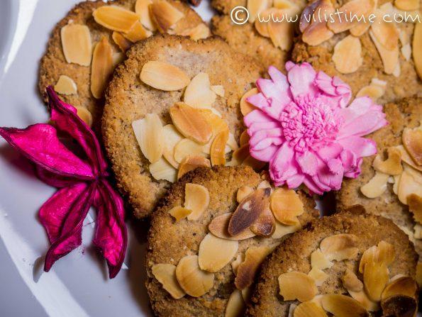 Бисквитки с бадемово брашно и канела