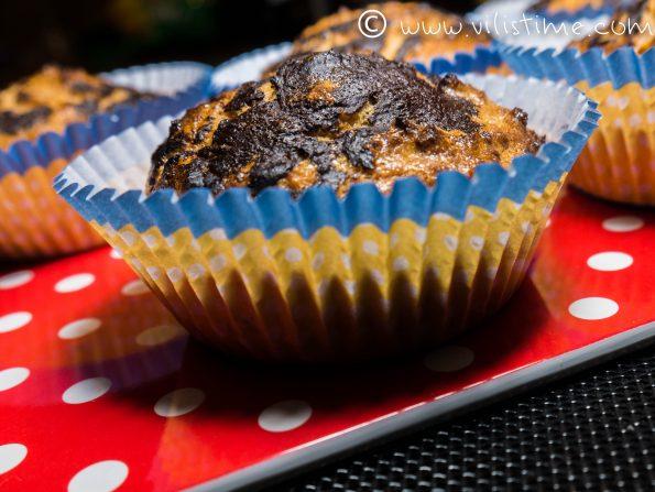 Сладки и лесни кето мъфини с какао
