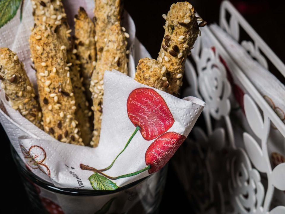 Веган пухкави хрупанки с бадемово брашно