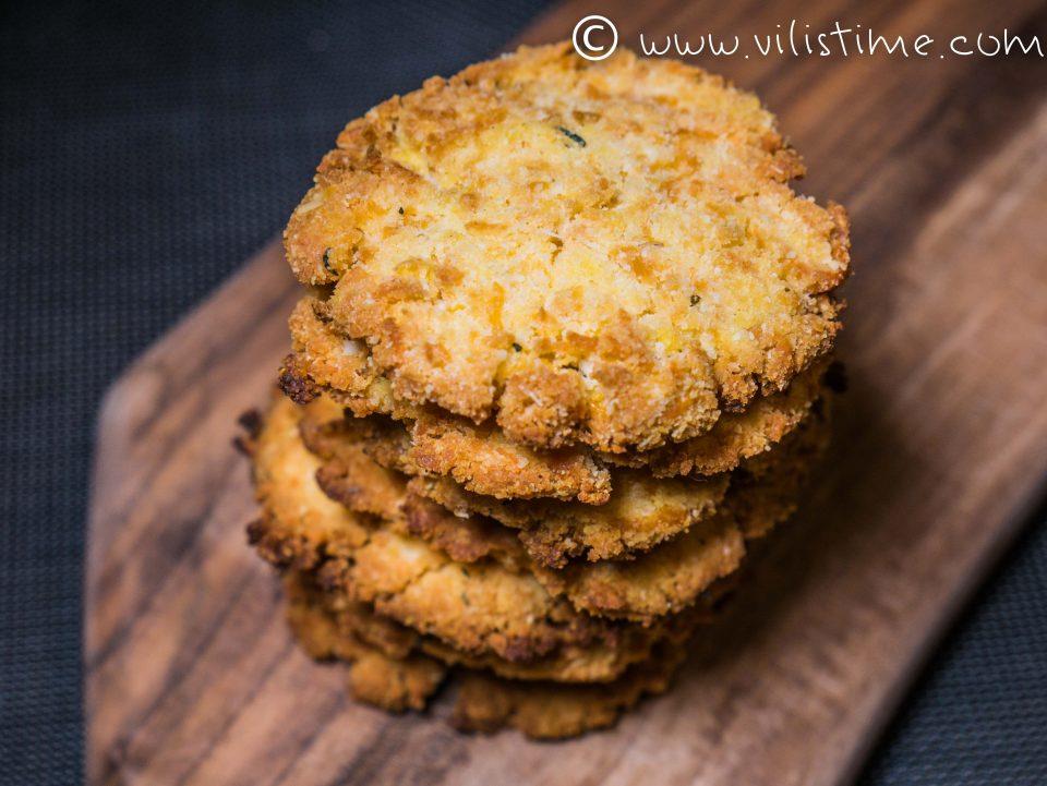 Безглутенови бисквити с кокос и мащерка