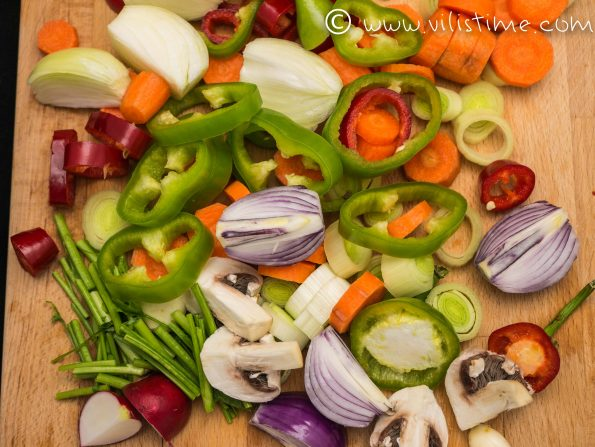 Домашен зеленчуков бульон