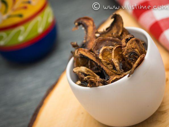 Домашен чипс от гъби
