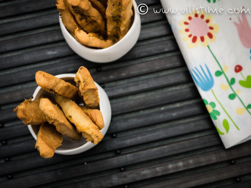 Нисковъглехидратни соленки с ким