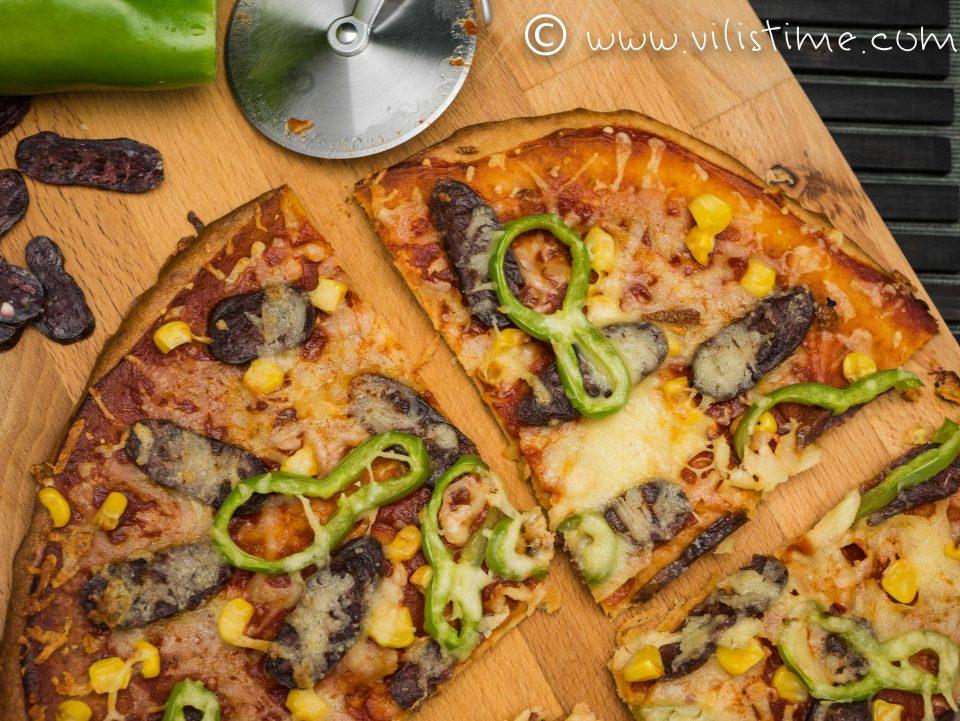 Домашна безглутенова пица за деца