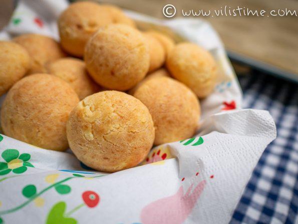 Традиционни бразилски хлебчета