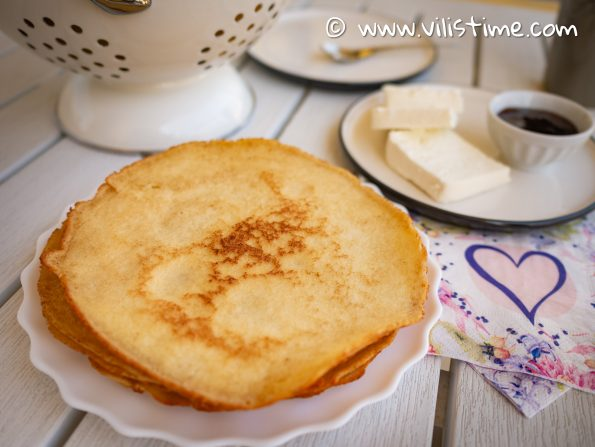 Кето палачинки без млечни продукти