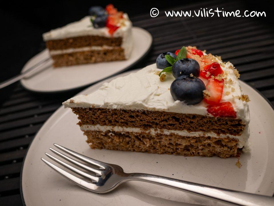 Кето торта за рожден ден