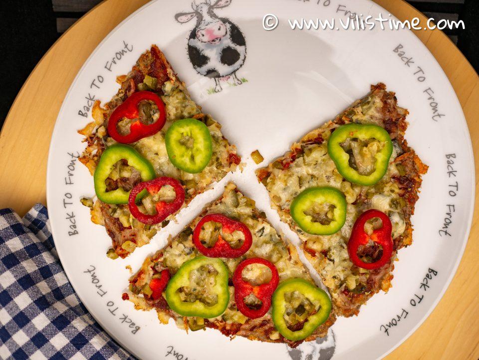 Любимата ми кето пица